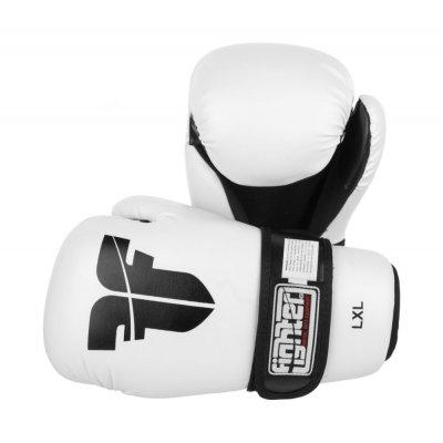 Перчатки для кикбоксинга Fighter Белые
