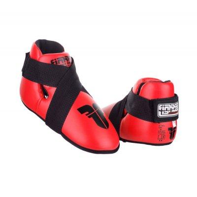 Футы для кикбоксинга Fighter Красные