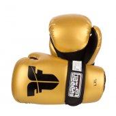 Перчатки для кикбоксинга Fighter Золотые