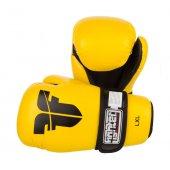 Перчатки для кикбоксинга Fighter Желтые