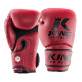 Перчатки King Pro Boxing Темно-красные