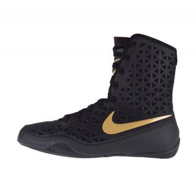 Боксерки Nike KO Черно-золотые