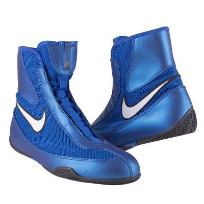 Боксёрки Nike Machomai Mid Синие
