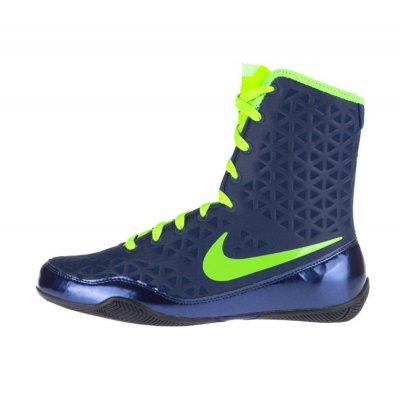 Боксерки Nike KO Сине-зеленые