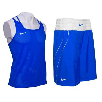 Боксёрская форма Nike - комплект синий 2017