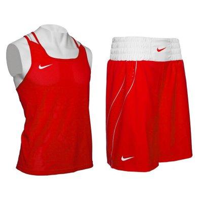 Боксёрская форма Nike - комплект красный 2017