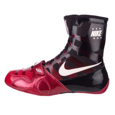 Боксерки Nike HyperKO Красно-черные