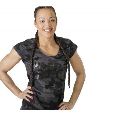 Женская футболка Paffen Sport Camo Черная