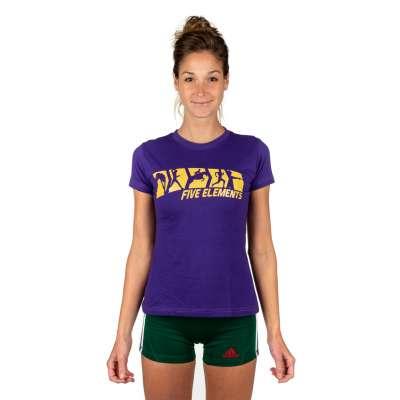 Женская футболка 5ELMNTS FIVE Фиолетовая