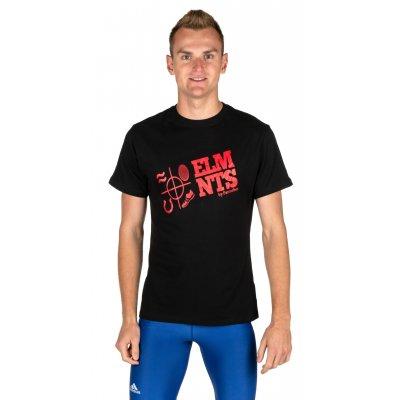 Мужская футболка 5ELMNTS LOGO Черная