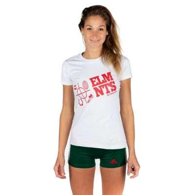 Женская футболка 5ELMNTS LOGO Белая