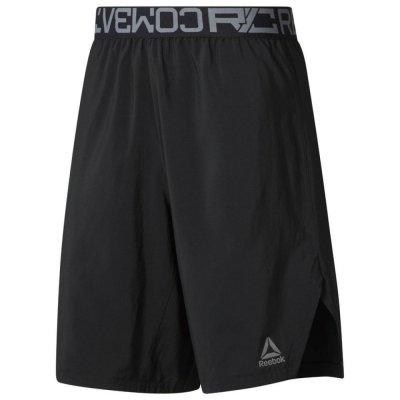 Боксерские шорты Reebok Combat Boxing - Черные