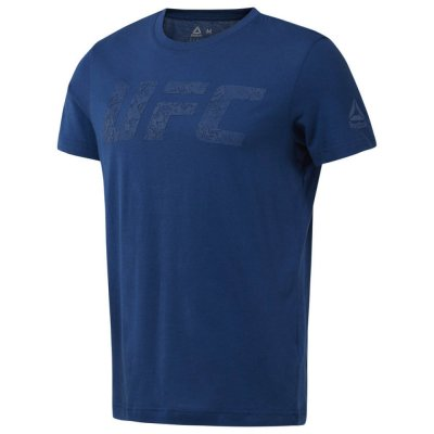 Футболка UFC Logo Reebok Синяя