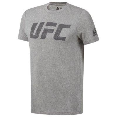 Футболка UFC Logo Reebok Серая