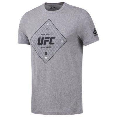 Футболка UFC Reebok Серая