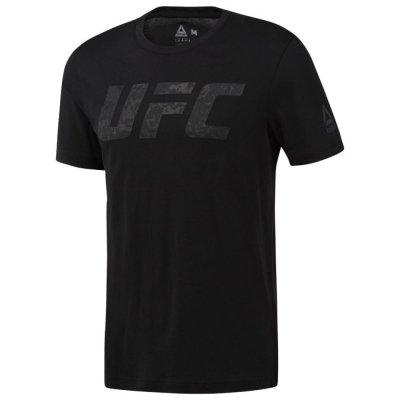 Футболка UFC Logo Reebok Черная