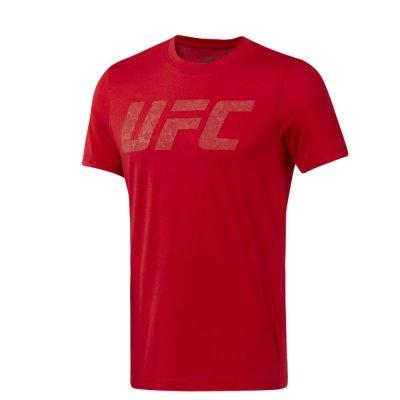 Футболка UFC Logo Reebok Красная