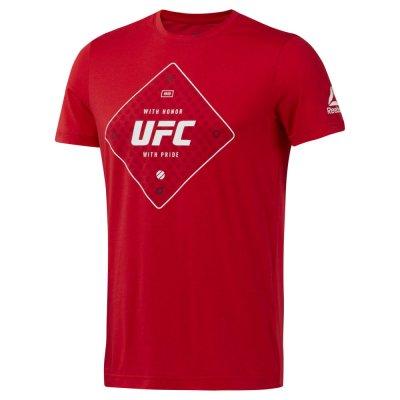 Футболка UFC Reebok Красная