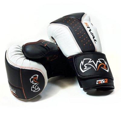 Снарядные перчатки Rival RB10 Бело-черные