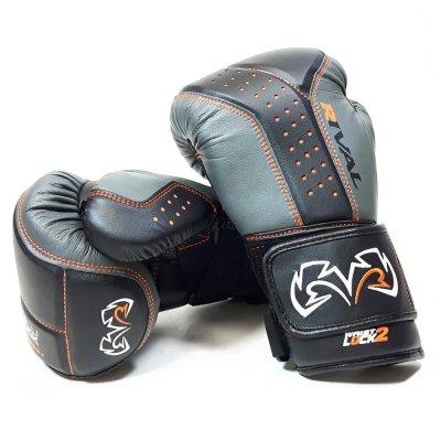 Снарядные перчатки Rival RB10 Серо-черные