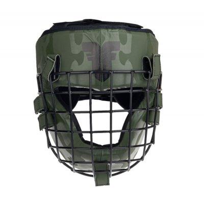 Шлем с решёткой Fighter Shock Хаки