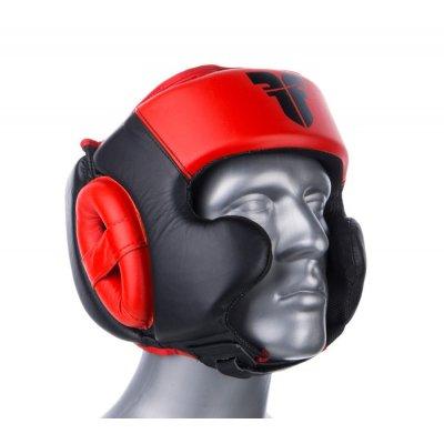 Шлем Fighter Красно-черный