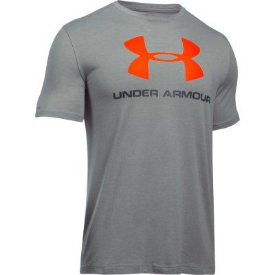 Футболка Under Armour CC Sportstyle Logo Серая