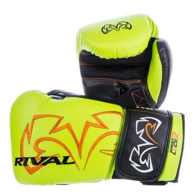Снарядные перчатки Rival RB11 Ярко-зеленые
