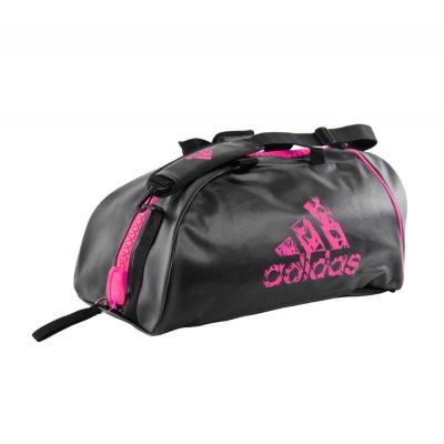 Сумка Adidas Training 2 в 1 Черно-розовая