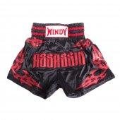 Тайские шорты Windy - Черно-красные