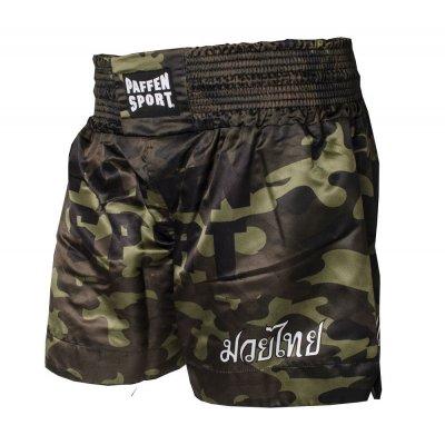 Тайские шорты Paffen Sport Camo Зеленые