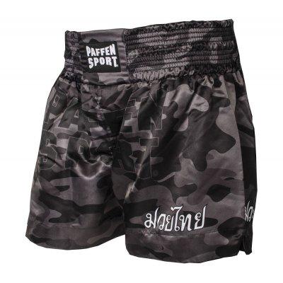 Тайские шорты Paffen Sport Camo Черные