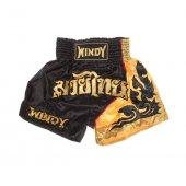 Тайские шорты Windy - Черно-золотые