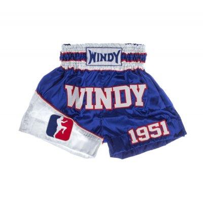 Шорты для тайского бокса Windy - сине-белые