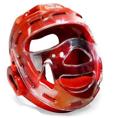 Шлем с маской Daedo Красный