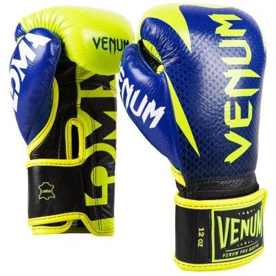 Перчатки Venum Hammer LOMA Серия Сине-желтые